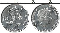 Изображение Монеты Соломоновы острова 10 центов 2012 Железо UNC-