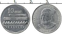 Изображение Монеты Самоа 10 сене 2011 Железо UNC Туиатуа Тупуа Тамасе