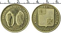 Продать Монеты Уоллис и Футуна 100 франков 2011 Латунь