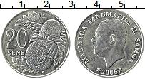 Изображение Монеты Самоа 20 сене 2006 Медно-никель UNC-