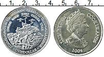 Изображение Монеты Острова Кука 1 доллар 2004 Медно-никель UNC- Елизавета II 60 лет