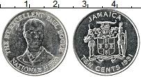 Изображение Монеты Ямайка 10 центов 1991 Медно-никель XF Пауль Богле