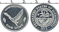 Изображение Монеты Австралия и Океания Микронезия 1 дайм 2012 Медно-никель UNC-