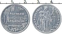Изображение Монеты Полинезия 1 франк 1999 Алюминий UNC- Протекторат Франции