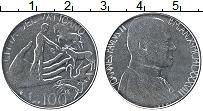 Изображение Монеты Ватикан 100 лир 1988 Железо UNC Иоанн Павел II