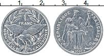 Продать Монеты Новая Каледония 1 франк 2003 Алюминий