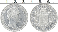Изображение Монеты Саксония 1 талер 1849 Серебро XF Е. Фридрих Август V