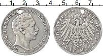 Изображение Монеты Пруссия 5 марок 1894 Серебро VF-