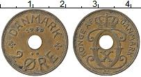 Изображение Монеты Дания 2 эре 1930 Медь XF