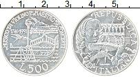 Изображение Монеты Италия 500 лир 1991 Серебро UNC- 250 лет со дня смерт