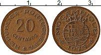 Изображение Монеты Мозамбик 20 сентаво 1973 Медь XF Протекторат Португал