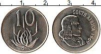 Изображение Монеты ЮАР 10 центов 1969 Медно-никель UNC-