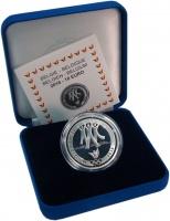 Изображение Подарочные монеты Бельгия 10 евро 2016 Серебро Proof