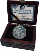 Изображение Подарочные монеты Ниуэ 5 долларов 2015 Серебро UNC