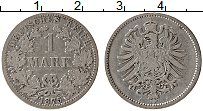 Изображение Монеты Германия 1 марка 1875 Серебро XF А