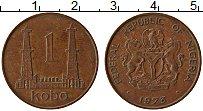 Изображение Монеты Нигерия 1 кобо 1973 Бронза XF