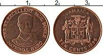 Изображение Монеты Ямайка 10 центов 1996 Бронза UNC- Пол Богл