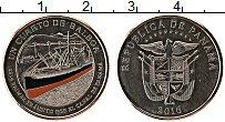 Изображение Монеты Панама 1/4 бальбоа 2016 Медно-никель UNC 100 лет Панамскому к
