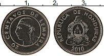 Изображение Монеты Гондурас 20 сентаво 2010 Медно-никель UNC