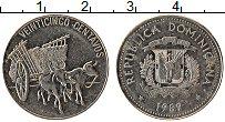 Изображение Монеты Доминиканская республика 25 сентаво 1989 Медно-никель UNC-