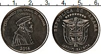 Изображение Монеты Панама 1/2 бальбоа 2014 Медно-никель UNC