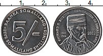 Изображение Монеты Сомалиленд 5 шиллингов 2002 Алюминий UNC