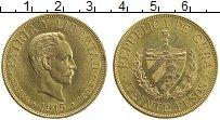 Изображение Монеты Куба 20 песо 1915 Золото UNC- Хосе Марти. KM#20. 3