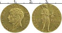 Продать Монеты Голландия 1 дукат 1808 Золото