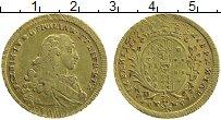 Изображение Монеты Сицилия 6 дукати 1777 Золото XF Фердинанд IV. Вес 8,