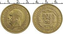 Изображение Монеты Северная Америка Доминиканская республика 30 песо 1955 Золото XF