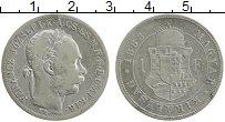 Изображение Монеты Венгрия 1 форинт 1888 Серебро XF
