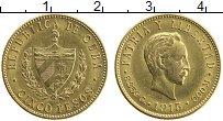 Изображение Монеты Куба 5 песо 1915 Золото UNC