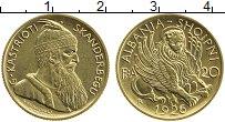 Изображение Монеты Албания 20 франга ари 1926 Золото UNC-