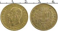Изображение Монеты Италия 20 лир 1863 Золото XF