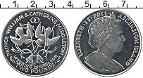 Изображение Монеты Остров Вознесения 2 фунта 2011 Медно-никель UNC- Елизавета II. Свадьб