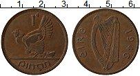 Изображение Монеты Ирландия 1 пенни 1946 Бронза XF