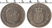 Изображение Монеты Дания 5 крон 1972 Медно-никель XF Фредерик IX