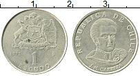 Изображение Монеты Чили 1 эскудо 1972 Медно-никель XF+