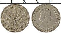 Изображение Монеты Кипр 50 милс 1955 Медно-никель XF Елизавета II