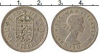 Изображение Монеты Великобритания 1 шиллинг 1955 Медно-никель XF