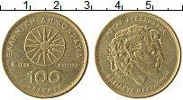Изображение Монеты Греция 100 драхм 1992 Латунь XF