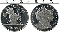 Изображение Монеты Остров Мэн 1 крона 2012 Медно-никель UNC Олимпийские игры. На