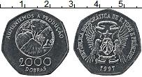 Изображение Монеты Сан-Томе и Принсипи 2000 добрас 1997 Медно-никель UNC