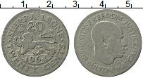 Изображение Монеты Сьерра-Леоне 20 центов 1964 Медно-никель XF