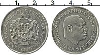 Изображение Монеты Сьерра-Леоне 20 центов 1984 Медно-никель XF
