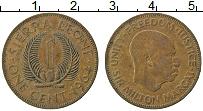 Изображение Монеты Сьерра-Леоне 1 цент 1964 Бронза XF Милтон Маргаи