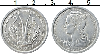 Изображение Монеты Французская Экваториальная Африка 2 франка 1948 Алюминий XF