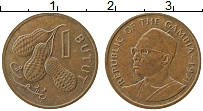 Изображение Монеты Гамбия 1 бутут 1971 Бронза XF