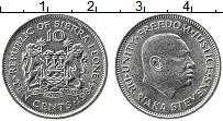 Изображение Монеты Сьерра-Леоне 10 центов 1984 Медно-никель UNC-