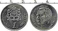 Изображение Монеты Марокко 1 дирхам 2002 Медно-никель UNC-
